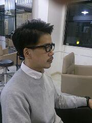 メンズ黒縁眼鏡